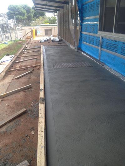 Full site preparation